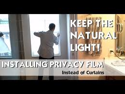 How To Frost A Bathroom Window Window Privacy Film Frosted Glass Look How To Apply Easy Diy