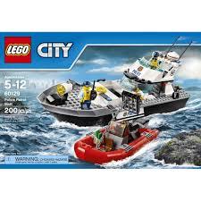 lego city police police patrol boat 60129 walmart com