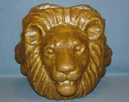 eclectic lion ring holder images Lion planter etsy jpg