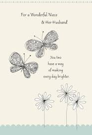 weeding card butterflies wedding card for niece greeting cards hallmark