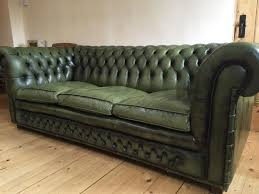 Leather Chesterfield Sofa Brilliant Green Leather Chesterfield Sofa Green Leather