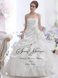 princesse robe de mariã e robes de mariee princesse satin bouillonnant mariage
