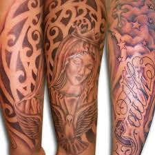 exciting religious religious sleeve on tattoochief com
