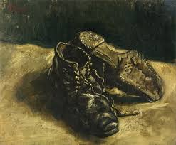it s all fun and games until somebody loses an ear art review click to enlarge vincent van gogh a pair of shoes 1887