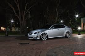 lexus is 250 lowered lowered lexus is350 gets custom touches and vossen rims u2014 carid