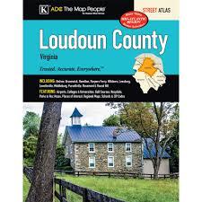 Map Of Loudoun County Va Loudoun County Va Street Atlas Kappa Map Group 9780762582020