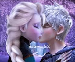 film elsa menikah photo of jack and elsa the kiss for fans of elsa jack frost