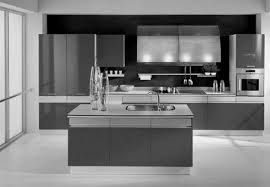 modern black and white kitchen kitchens black cabinets natural home design