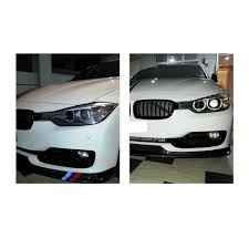 aliexpress com buy carbon fiber front lip for bmw f30 316i 320i