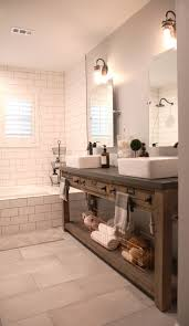 bathroom cabinets round copper hanging mirror brushed nickel