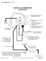 1982 one wire alternator upgrade help mustang forums at stangnet