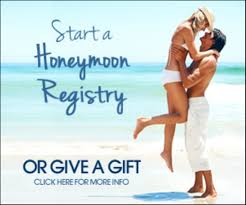 wedding honeymoon registry honeymoon gift registry