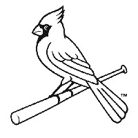 9 images of louisville cardinals logo coloring pages st louis