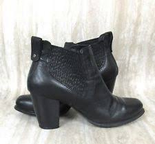 ebay womens ankle boots size 9 ugg australia size 9 cobie womens black leather heeled ankle boots