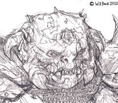 forces of good sketches and demon captain drawing willbeck com