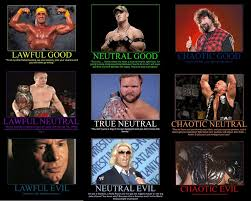 Backyard Wrestling Characters Pro Wrestling Alignment Chart By Mrgoggleswv On Deviantart