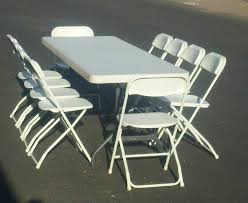 party chair and table rentals table rentals party rentals folding table rentals