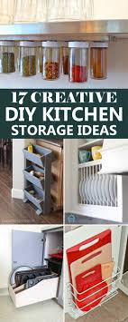 diy kitchen storage ideas creative diy kitchen storage ideas