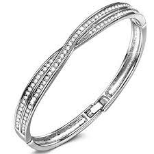 bangle bracelet swarovski images Lady colour bangle bracelet for women gifts waltz of jpg