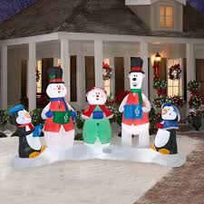 christmas inflatables outdoor imposing ideas outdoor christmas decorations airblown