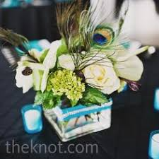 Peacock Feather Centerpieces by Peacock Wedding Inspiration Peacocks Centerpieces And Feather
