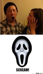Scream Meme - scream by random meme center