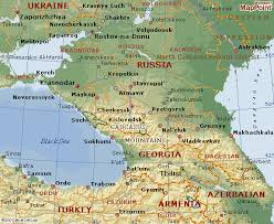 map of abkhazia political map of abkhazia