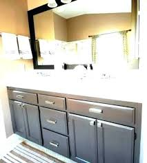 ideas for painting bathroom cabinets refinishing bathroom cabinets simpletask club