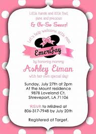 Free Printable Minnie Mouse Invitation Template by Free Printable Invitations 9 Free Psd Vector Ai Eps Format