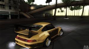 rwb porsche yellow porsche 993 rwb for gta san andreas