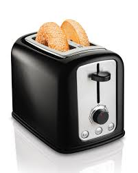 Automatic Toaster Amazon Com Hamilton Beach Cool Touch 2 Slice Toaster 22464
