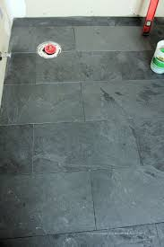 Black Slate Bathrooms Best 25 Black Slate Floor Ideas On Pinterest Dark Tile Floors