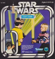 real jedi training manual playing jedi the history of toy lightsabers starwars com