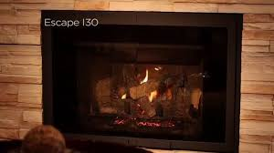 heat u0026 glo gas fireplace inserts video youtube
