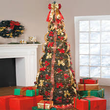 pop up christmas trees christmas decor