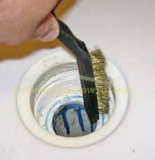 how to fix a leaky shower drain install the new gasket and drain