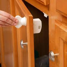 kitchen cabinet door magnets home depot safety 1st complete magnetic locking system hs132 the home