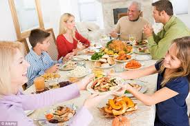 traditional family dinner as survey says 1 in 5 never eat