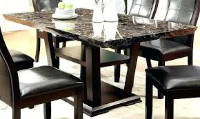 faux marble dining table marble dining room table furniture of