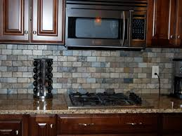 kitchen countertops and backsplash pictures stainless steel backsplash tiles home design and decor