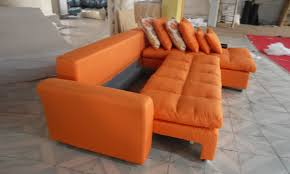Orange Sofa Bed Free Shipping Modern Design 2015 New Living Room L Shaped