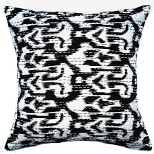 ikat decorative pillow cover butterfly dreams luxury bed linens