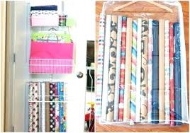 ways to store wrapping paper wrapping paper storage hanging wrapping paper storage wrapping paper