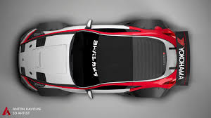 Artstation Nissan 370z Widebody Anton Kavousi