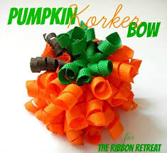 korker bows pumpkin korker bow the ribbon retreat