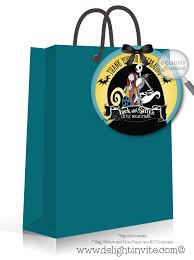 nightmare before christmas baby shower favor tags di 4525ft