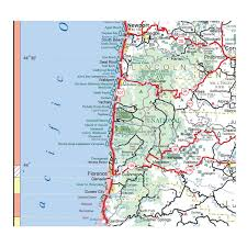 Portland Oregon On Map by National Forest Campgrounds Oregon Coast Free Guide To Northwest