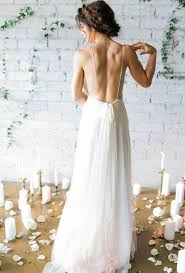 wedding dress no 42 backless wedding dresses that wow happywedd