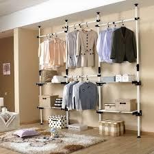 free standing closet systems storage ideas