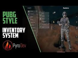 pubg engine unreal engine 4 pubg style inventory 1 youtube